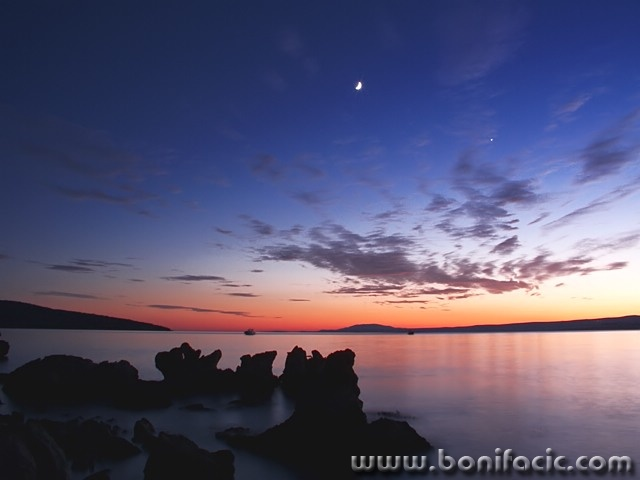 nature___Rocky Sunset___Punat, Croatia.